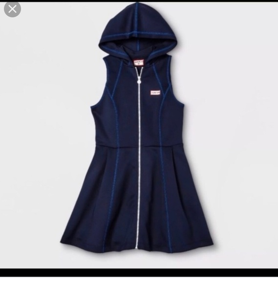 Hunter for Target Dresses & Skirts - Hunter for Target Navy dress with hoodie